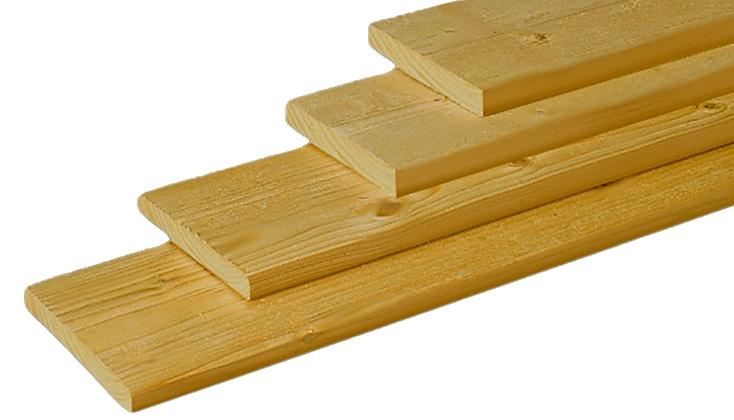 16x80mm geimpregneerd Tuinhout geimpregneerd Planken  bij Houthandel Jan Sok