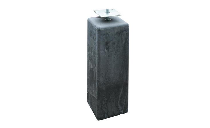 Betonpoer 15 x 18 x 50 cm, antraciet Opsluitbanden / Betonpoeren Betonpoeren  bij Houthandel Jan Sok