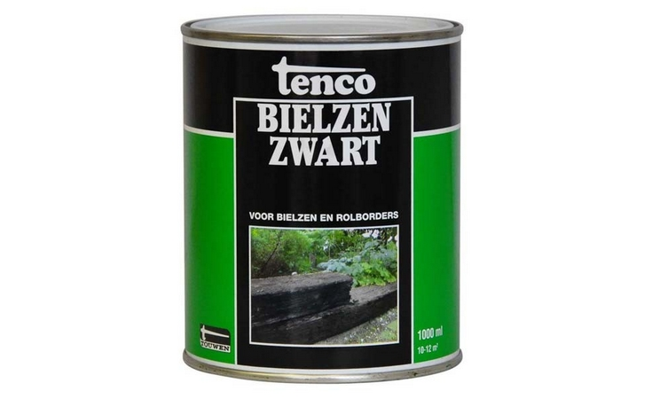Tenco Bielzenzwart Verf/Beitsen Beitsen/Houtbescherming  bij Houthandel Jan Sok