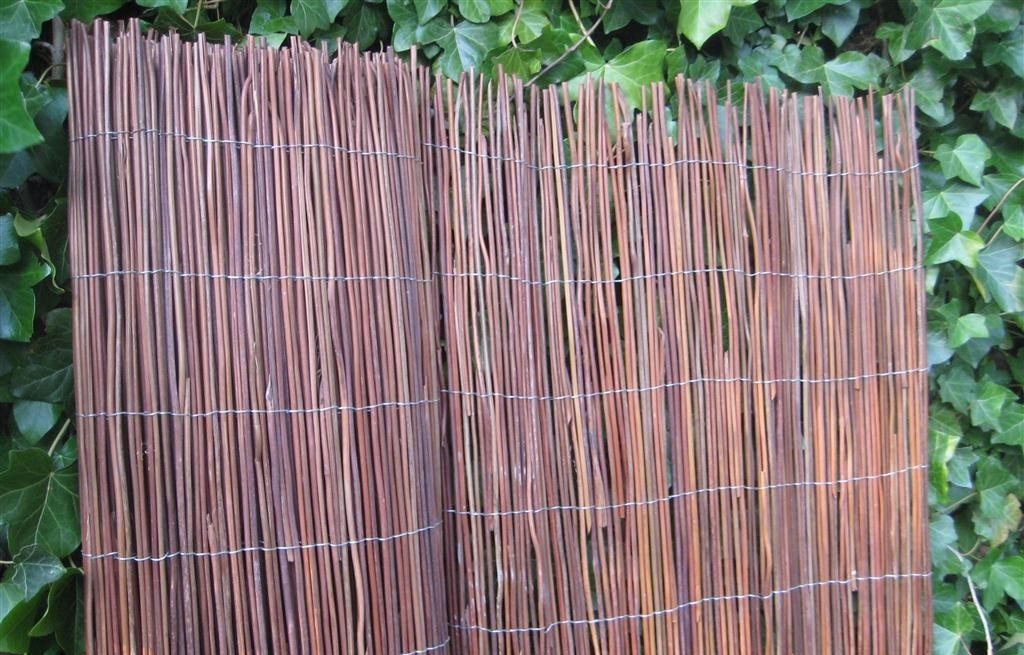 Black Fern Fence Natuurlijke afscheidingen Matten  bij Houthandel Jan Sok