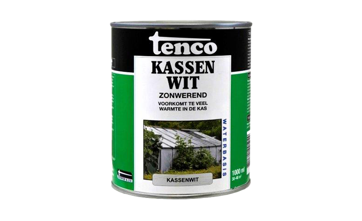 TENCO KASSENWIT TRANSPARANT WIT 1 L. Verf/Beitsen Tenco beits  bij Houthandel Jan Sok