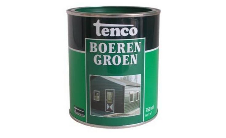 Tenco Boerengroen Verf/Beitsen Beitsen/Houtbescherming  bij Houthandel Jan Sok