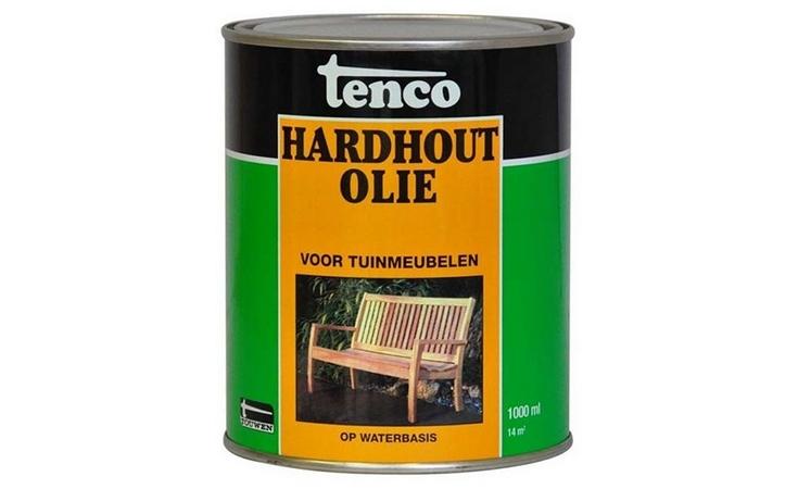 TENCO HARDHOUTOLIE WATERBEITS 1 Verf/Beitsen Beitsen/Houtbescherming  bij Houthandel Jan Sok