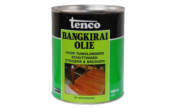 Tenco Bangkirai olie Verf/Beitsen Beitsen/Houtbescherming  bij Houthandel Jan Sok
