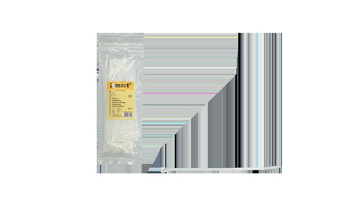 Nylon kabelband SMART Ø2,5x100mm/transp. Electra Accessoires  bij Houthandel Jan Sok