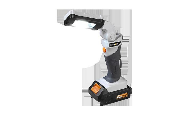 18V LI-ION LED LAMP MULTI-POSITIE / 3W / 100 LUMEN Zonder accu en oplader Gereedschap Accu Gereedschap  bij Houthandel Jan Sok