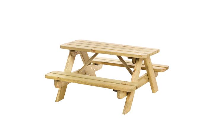 Junior picknicktafel Björn, bladmaat 90 x 38,5 cm. Tuinmeubelen Picknicktafels  bij Houthandel Jan Sok