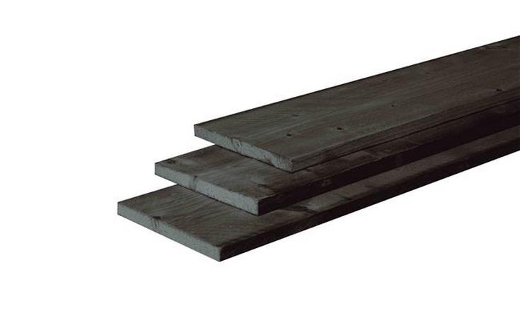 22x200mm FB Zwart Douglas Lariks / Douglas Planken  bij Houthandel Jan Sok